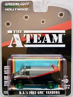 "1983 GMC Vandura  ""The A-Team""    / Greenlight Hollywood  ""Green Machine"" 1:64"