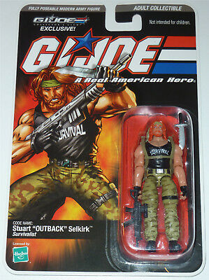 G.i.joe 2008 Outback Moc Neu & Ovp Gi Joe Cobra Club Exclusive Limited