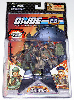 G.i.joe 2008 Duke Vs Red Star 2-Pack Moc Neu & Ovp Gi Joe Cobra