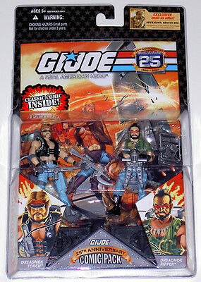 G.i.joe 2008 Torch & Ripper 2-Pack Moc Neu & Ovp Gi Joe Cobra