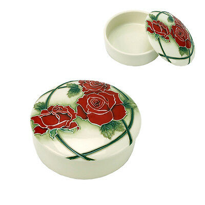 Old Tupton Ware Trinket Box with Passion Rose design TW2504 NEW  19146