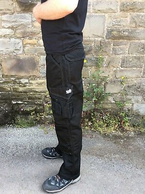 Scruffs Mens Combat Cargo Work Trousers With KNEE PAD POCKETS
