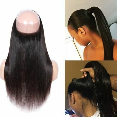 HairParadise Lace 360 Bresilien Lisse cheveux humain Straight human hair