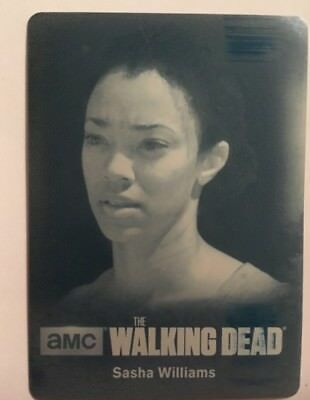 Sonequa Martin-Green as Sasha Williams Cyan Printing Plate Walking Dead Season 4