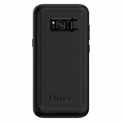 Otterbox Defender Series Protective Case for Samsung Galaxy S8 + Plus (Black)