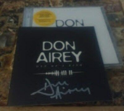 AUTOGRAPHED  Don Airey One Of A Kind 2 CD Set whitesnake black sabbath ozzy