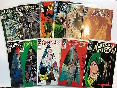 Green Arrow Comic book lot of 11. High grade. Unread