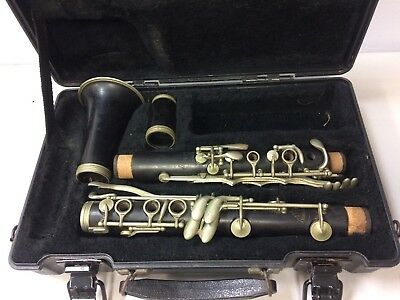 Vintage Manhattan Sponsored by Selmer Bb Clarinet for Parts, Repair, or Art