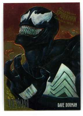 Spider-Man Fleer-Ultra Golden Web Chrome Card - #8 - Venom - Dave Dorman