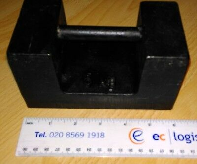 5Kg Iron Scale Calibration Test Weight (2S Precision)