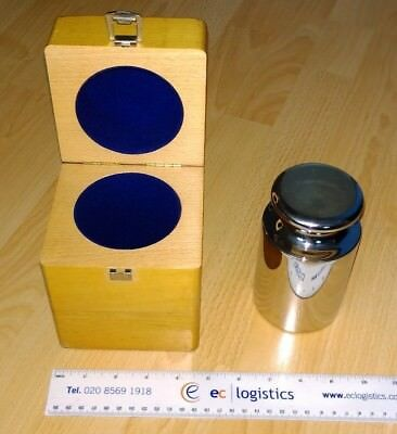 5Kg Stainless Steel Cylindrical Scale Calibration Weight 5000g