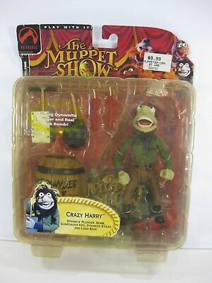 The Muppet Show Crazy Harry 2002 Palisades Toys Figure Series 2