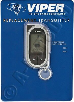 Viper 7752V Replacement Transmitter Responder Lc3/hd Lcd 2-Way Remote Sst 7752-V
