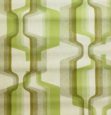 1970s 60s Mod Minimalist GEOMETRIC Green Machine Modern Vintage Wallpaper