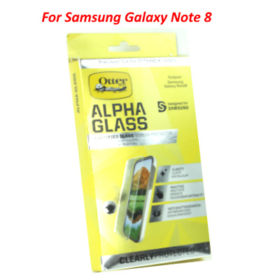 Genuine OtterBox Alpha Glass Series Screen Protector for Samsung Galaxy NOTE 8