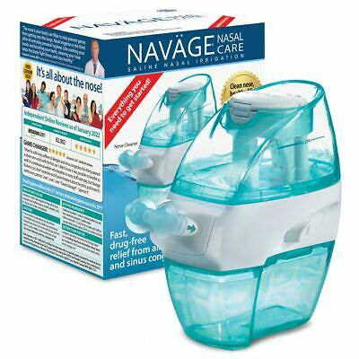 NAVAGE FACTORY REFURB BUNDLE: Nose Cleaner, 20 SaltPods & Cntrtop Caddy $20 OFF!