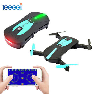 Teeggi JY018 Mini Selfie Foldable RC Drone with Camera WIFI FPV Altitude Hold