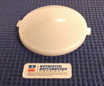 1964-1974 Dodge Charger Challenger Plymouth Cuda Interior Dome Lamp White Lens
