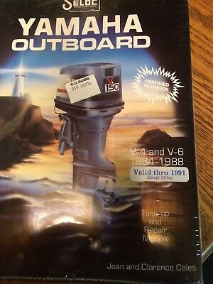 Seloc Service Manual For Yamaha Outboards 1984-91 Including Jet Drive Unit