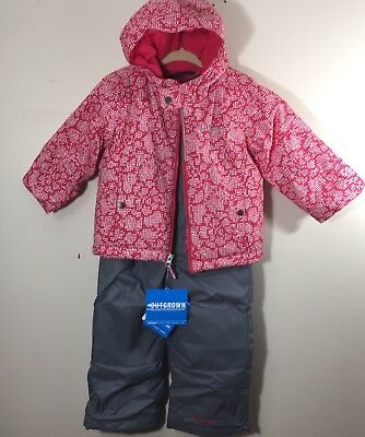 b59804a2d Columbia Jacket Snowsuit Toddler Girls 3T Frosty Slope Set Outgrow $130 NEW