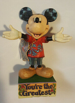 Disney Showcase You're The Greatest Mickey Mouse Figurine