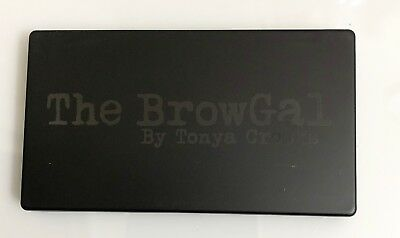 The BrowGal Brow Gal Convertible Brow Universal Pallet Wet/Dry Tonya Crooks