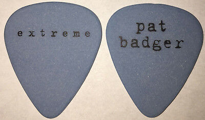 Extreme-Rare Waiting Punchline 1995 Tour Guitar Pick-Nuno Bettencourt-Pat Badger