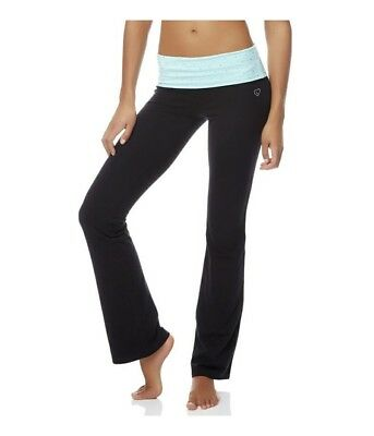 Aeropostale Womens Bootcut Athletic Track Pants, Green, X-Small