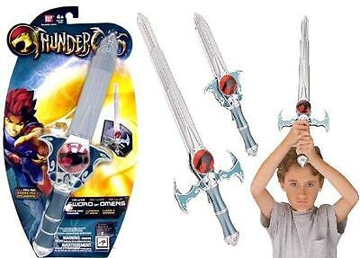 Thundercats Deluxe Role Play Sword of Omen Lion-O Electronic Lights and Sound