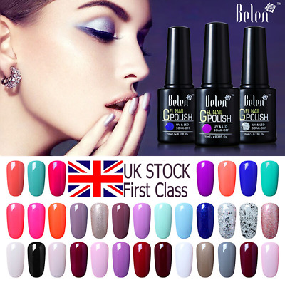 Belen Gel Nail Polish UV LED Soak Off Top Base Coat Long lasting Manicure