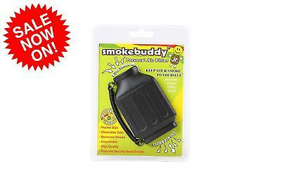Smoke Buddy Mega Personal Air Purifier Cleaner Filter Removes Odor Black  New Fr