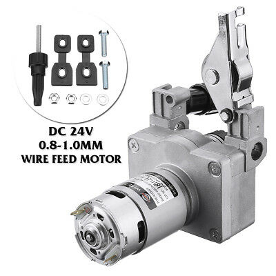 MIG-160 DC24V 0.8-1.0mm Welding Wire Feed Motor Assembly Feeder Set No Connector