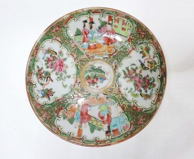 A Chinese Famille rose porcelain saucer