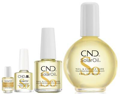 CND Creative Solar Oil Sizes From Mini 3.7ml to 68ml