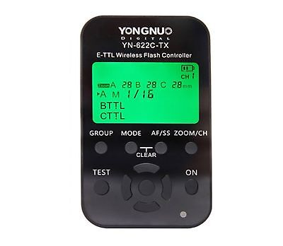 YONGNUO YN622C-TX Wireless Trigger Flash Controller for Canon