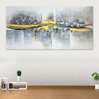 Original Hand-painted Oil Painting On Canvas With Frame Wall Art Home Decor