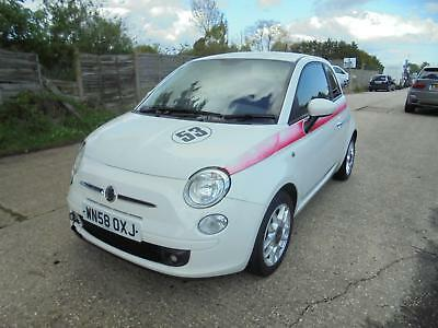 Lightly Damaged Repairable 58 Reg Fiat 500 1.4 Sport Petrol 6 Speed Manual
