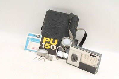 Old Photometer Luxmeter pu150 Photometry Photometer Lux Meter
