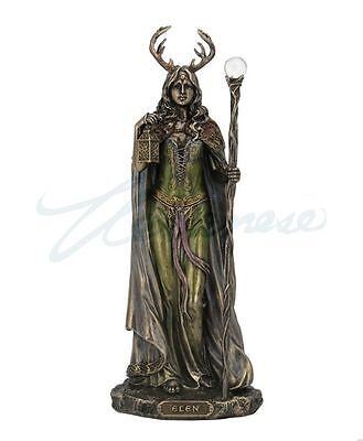 Elen Of The Ways Sculpture Antlered Goddess Of The Forrest Statue Figure