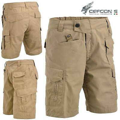 Bermuda DEFCON 5 ADVANCED TACTICAL SHORT Pants RIP-STOP Militare Softair Coyote