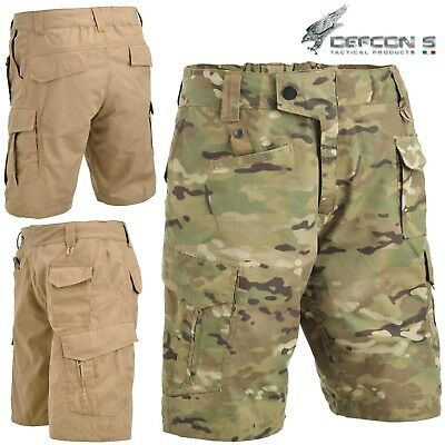Bermuda DEFCON 5 ADVANCED TACTICAL SHORT Pants RIPSTOP Militare Softair  Multcam d39c513fbb20