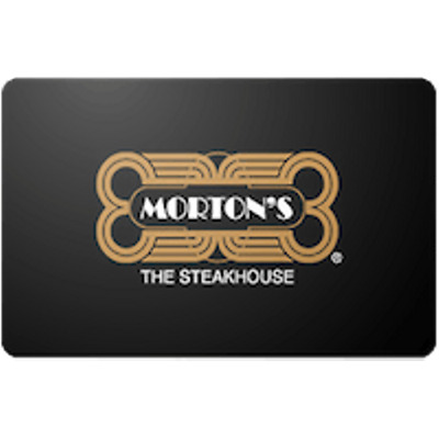 Mortons Gift Card $50 Value, Only $45.00! Free Shipping!