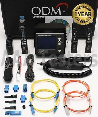 ODM TTK500 SM MM Fiber Optic Test Inspection Kit VIS300 RP460 DLS355 DLS350