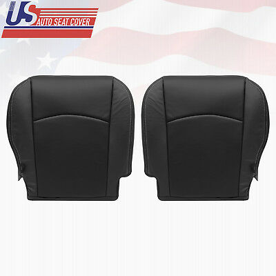 2010 Dodge Ram 5500 4500 Driver  Passenger Bottom Perforated Leather Cover BLACK