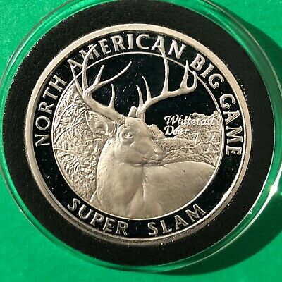 Buffalo Bison & Indian Head 1/4 Troy Oz .999 Fine Silver Round Quarter Ounce