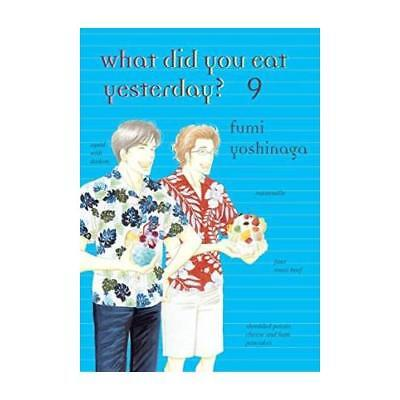 What Did You Eat Yesterday?. Volume 9 by Fumi Yoshinaga (author)