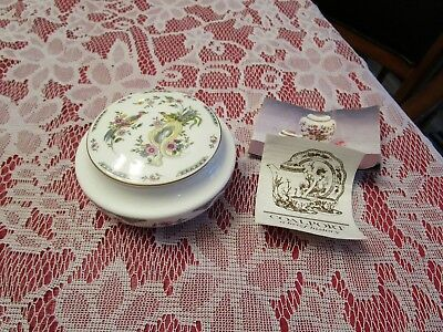 Coalport Paradise Fine Bone China Trinket Box NW/O Papers Excellent Condition!