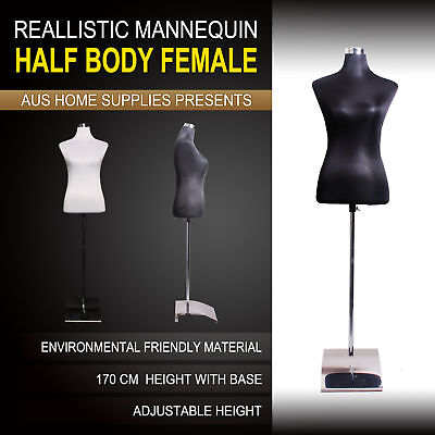 Half Body Male/Female Top Quality Mannequin Shop Window Display Clothes Model
