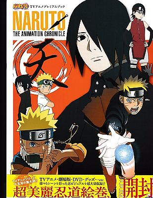 Naruto The Animation Chronicle Art Book