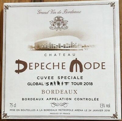 "DEPECHE MODE : ""Live In Bordeaux 2018"" (RARE 2 CD)"